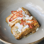 NZ Ora King Salmon with coconut chilli sambal